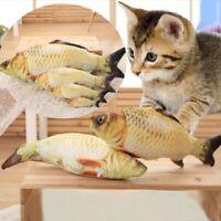 Pet Katzenspielzeug Graskarpfen Wagging Fisch Kratzbaum Kissen für Katzen