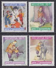 SWITZERLAND - 1999 Pro Juventute. Christmas (4v) - UM / MNH