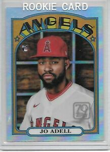 2021 TOPPS SERIES 2 70 YEARS 0F TOPPS CHROME JO ADELL  ROOKIE CARD