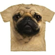 Pug Face Adult Small t-shirt