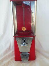 Original 1950's Oak Mfg penny gum ball machine. Acorn
