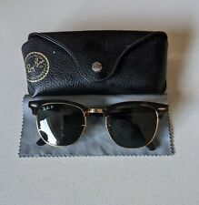 Ray Ban Clubmaster Classic Polarized Green / Tortoise Large 51mm Sunglasses