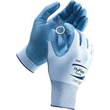 Ansell Hyflex 11-518 Gloves - Size 7 [Per Pair]  Cut Resistant Light Weight NEW