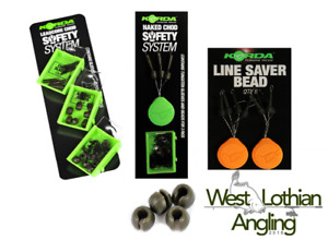 Korda Chod Safety System * Leadcore * Naked * No Trace Beads * Line Saver Bead*