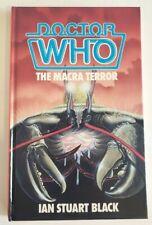 Doctor Who - The Macra Terror - Ian Stuart Black -  Hardcover - Rare! Nice!