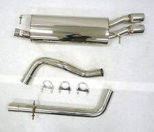 OBX Catback Exhaust for 2000-2004 Volkswagen Golf Mk4 4-Motion V6