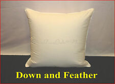 95% POLISH GOOSE DOWN  1 SCATTER INSERT CUSHION  40 X 40 CM  100% COTTON CASING