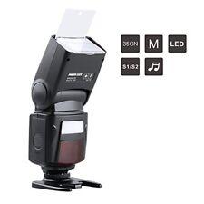 Flash Speedlite pour Canon Nikon Sony Panasonic Olympus Fujifilm Pentax Sigma