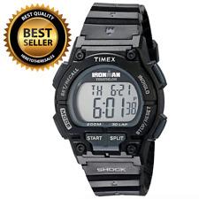 Timex Men's Ironman Endure 30 Shock Full-Size Black Resin Strap Watch T5K196