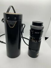 CANON ZOOM LENS FL 100-200 mm 1: 5.6 with ORIGINAL CASE 35754 Made in Japan
