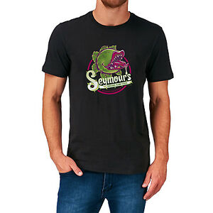 SEYMOURS ORGANIC PLANT FOOD T SHIRT LITTLE SHOP OF HORRORS 1980'S CULT MOVIE