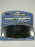 NEW DYNEX S-Video Audio/Video 1 : 4 RCA Selector Switch (DX-VS101) FREE SHIPPING