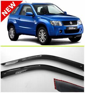 For Suzuki Grand Vitara 3d Window Visor Rain Guard Shade Wind Sun 2005-2015