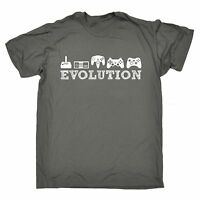Evolution Gaming T-SHIRT video games gamer console joystick funny birthday gift