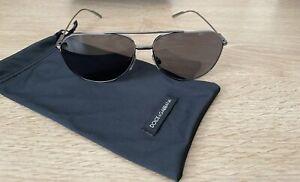 Dolce and Gabbana Sunglasses DG2166 Men Polarized Grey