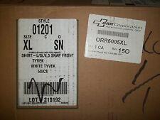 Lot of 21 DuPont Tyvek Coveralls 9WRL9 PBL1428-2X 000189617186M14996