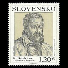Slovakia 2011 - Historian Jan Sambucus by Stimmer Painting Art - Sc 628 MNH