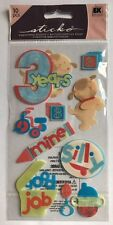 "EK  Success Sticko ""3 Years Old"" Dimensional Stickers"