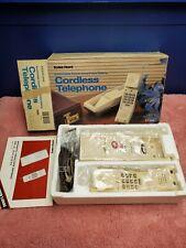 Vintage Radio Shack Duofone Cordless Phone ET393 In Box. Electronic Telephone