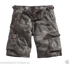 Pantalones cortos de hombre verde 100% algodón