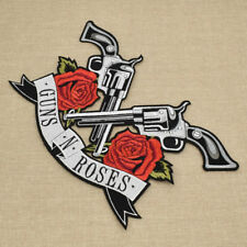 Guns N Roses Patches Sew On Embroidery Applique  DIY Handcraft Iron Deco Logo