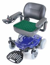 """Comfortcare Incontinence Protection Wheelchair Pad- Green 40x50cms, 16"""" x 20"""""""