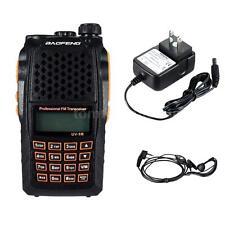 BAOFENG UV-6R VHF/UHF Dual Band Transceiver Interphone FM Radio Receiver R3F2