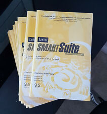 Lotus SmartSuite 9.5 Millennium Edition Lotus 123 Win XP, 7, 8,10 Brand New