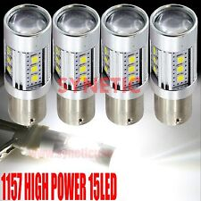 4x 1157 High Power 2835 Chip 1400LM White Projector Turn Signal LED Light Bulbs