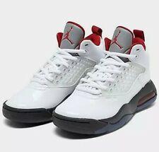 🔥NEW MEN'S Jordan Maxin 200 Basketball Shoes in White/Gym Red/Black CD6107 101