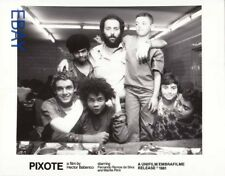 Director Hector Babenco w/his cast of boys VINTAGE Photo Pixote candid on set