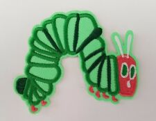 The Very Hungry Caterpillar Embroidered Iron On / Sew On Patches