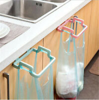 1x Kitchen Hanging Trash Rubbish Bag Holder Garbage Storage Rack Cupboard Hanger