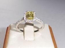 Peridot Cluster Sterling Silver Fine Rings