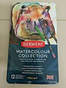 Derwent Watercolour Collection Drawing Pencils and Blocks Professional Quality T