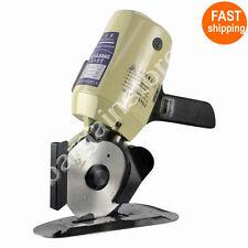 YJ-110 Cloth Cutter Fabric Cutting Machine Shear Rotary Electric Scissors & 220V