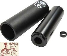WE THE PEOPLE DILL PICKLE BLACK AXLE BMX BICYCLE PEG W/ PLASTIC SLEEVE