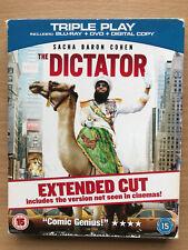 Sacha Baron Cohen The Dictator ~2012 Comédie Coupe Longue Gb au Détail Blu-Ray