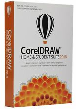 CorelDRAW Home & Student Suite 2018 New-Sealed- Retail Box.