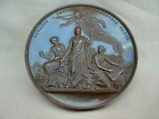 Superb & Large Bronze Medallion For The Crystal Palace Exhibition By W.J.Taylor