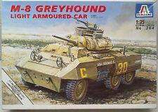 ITALERI 364 m-8 Greyhound Light Armoured Car 1:35 neuve, pas ôté