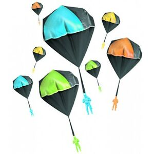 Glow-in-the-Dark Parachute Toy Tangle-Free Educational Fun Science