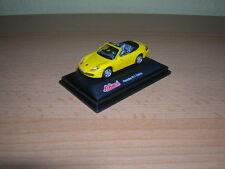 Schuco Junior Line Porsche 911 Cabrio Cabriolet gelb yellow, 1:72