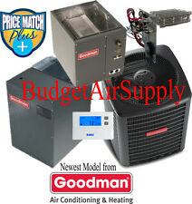 2 Ton 16 SEER Goodman Heat Pump GSZ160241+MBVC1200AA-1+CAPF3137B Up/Down Flow++