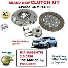 Para Kia Magentis 2.0 Crdi 136/140/150hp 2006-2011 Nuevo 3PC Embrague Kit + Csc