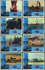 THE RA EXPEDITIONS orig 1974 lobby card set THOR  HEYERDAHL 11x14 movie posters