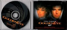 TINA TURNER Goldeneye 4 TRACK CD MAXI JAMES BOND MINT FT BONO & THE EDGE U2
