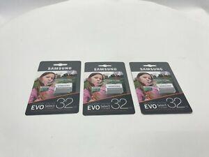 3 Mini Sd Card 32GbClass 10 With Adapter Samsung Fast Micro Ultra Memory