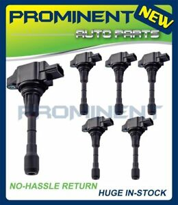 Coil of 6 Replacement for Infiniti Nissan Maxima Murano Pathfinder Quest UF550