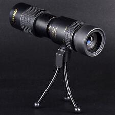 UK New Derry 10-100x30 Pocket-Size Monocular Telescope + Tripod HD Night Vision